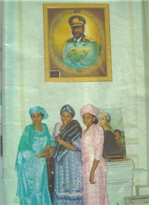 Dr. Mrs. Abacha And Her Daughters